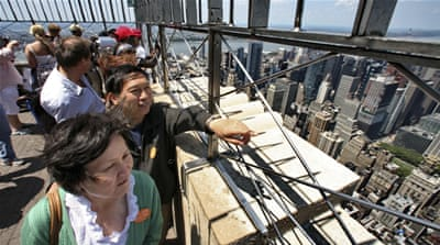 Chinese tourism to US drops for first time in 15 years