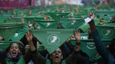 Argentina activists renew fight to legalise abortion