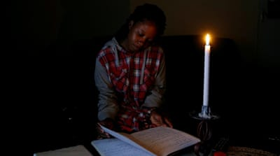 Why do the lights keep going out in Zimbabwe?
