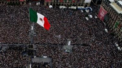 Zocalo square ALMO Supporters