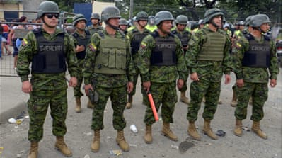 At least six inmates killed in Ecuador prison violence