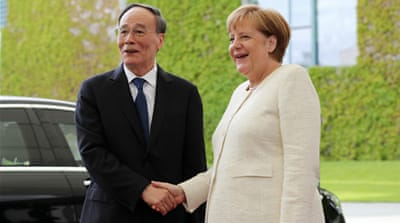 Europe's China diplomacy seeks silver linings to US trade war