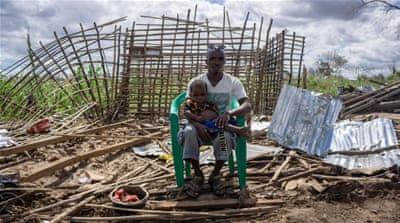 Security concerns as Mozambique grapples with cyclone