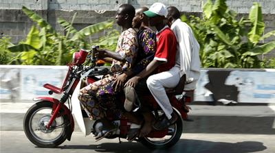 Fast and furious: Nigeria's motorcycle taxis