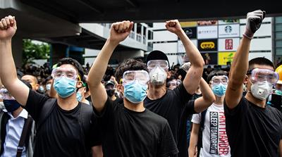 'Leaderless': Inside the masked face of Hong Kong's protests
