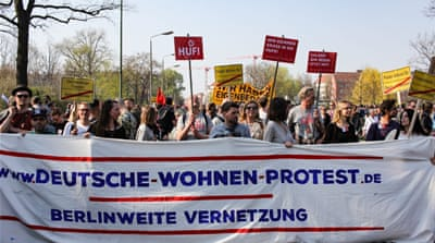 Priced out by corporate landlords, Berlin renters fight back