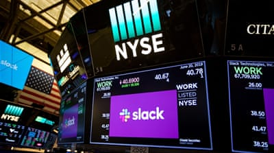 Slack now valued at more than $19bn in successful IPO