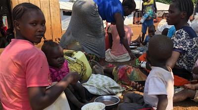 On the road with refugees fleeing DRC violence for Uganda
