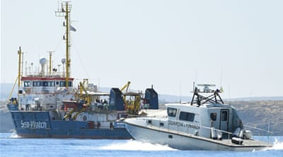 Refugee rescue ship defies Salvini, enters Italian waters