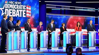 US Democratic debate night one: What did the candidates say?