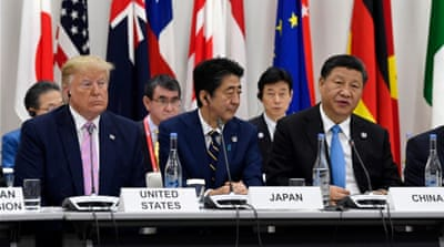 Slipping away? US-China trade deal appears elusive at G20 summit