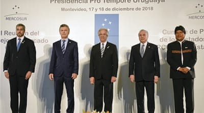 South American trade bloc signs 'historic' trade deal with EU