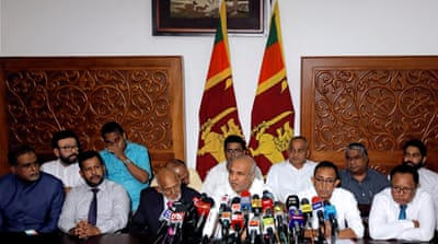 Sri Lanka Muslim ministers quit to protest 'threat to community'