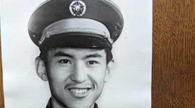 Do not use: Xiaoming Li as a young man in the PLA