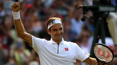 Federer, Nadal set up Wimbledon semifinal clash