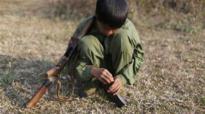 How Myanmar families resist armed groups recruiting children