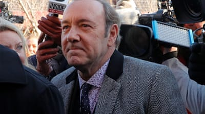 US: Prosecutors drop sex assault case against actor Kevin Spacey