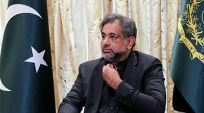 Former Pakistani PM Abbasi arrested on corruption charges