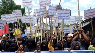 Rohingya activists slam ASEAN's call for dialogue with Myanmar