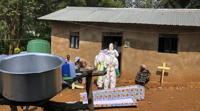 Ebola case reported near DR Congo's border with South Sudan