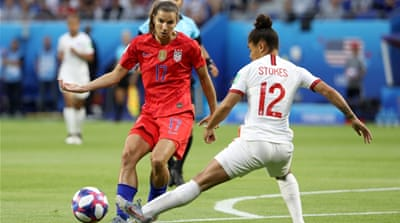 Women's World Cup: US beat England to secure place in final