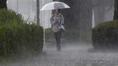 Heavy rains prompt evacuation of hundreds of thousands in Japan