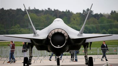 Turkey laments exclusion from US training on F-35 jets