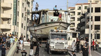 How Israel returned a Gaza fishing boat back to its owner