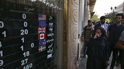 The economic impact of US sanctions on Iran's streets