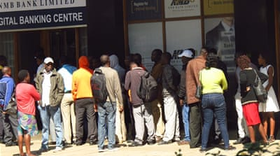 A cash crunch heaps even more pain on Zimbabweans