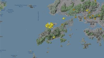 Hong Kong Flighradar