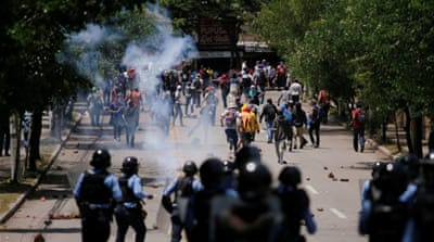 President Hernandez must end repression of protests in Honduras