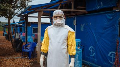On the front line of the Ebola epidemic