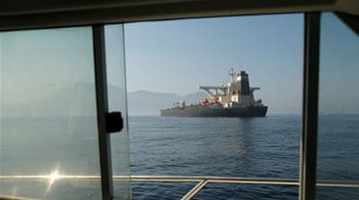 Iranian oil tanker departs Gibraltar after US request rebuffed