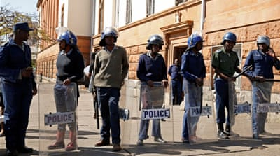 Zimbabwe deploys security forces over banned Bulawayo march