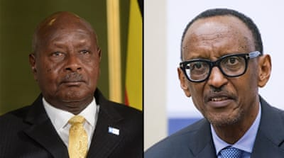 Presidents of Rwanda and Uganda sign pact to ease tensions