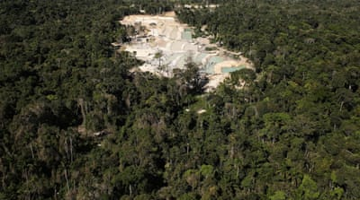 Brazilian gold rush is destroying Amazon forests