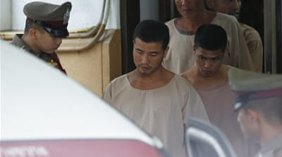 Death sentences stand for Myanmar men in Britons' murders