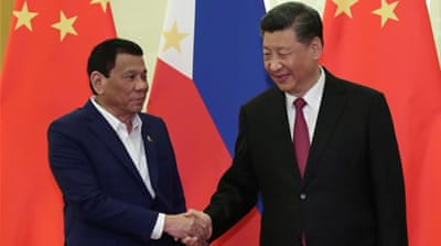 Philippines' Duterte to raise South China Sea ruling with Xi