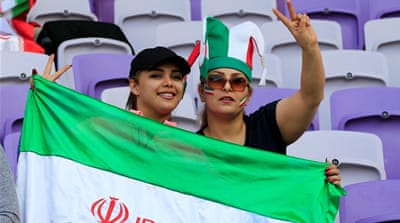 FIFA boss Infantino calls on Iran to lift stadium ban on women