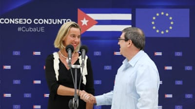 EU stresses support for Cuba even as US hikes sanctions