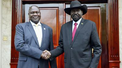 South Sudan rivals back deadline for unity government