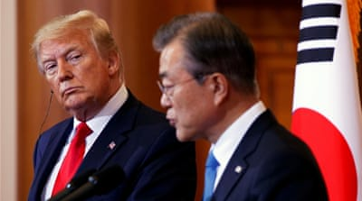 S Korea's Moon, Trump to meet amid hopes for fresh N Korea talks