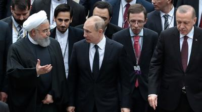 Erdogan hosts Putin and Rouhani for new round of Syria talks