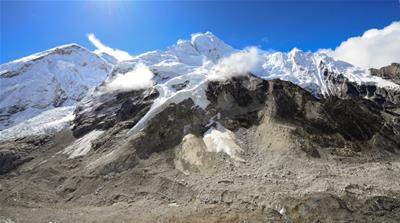 A rescue pilot's perspective on Everest's melting glaciers