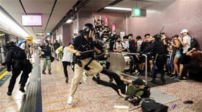 'Reckless, unlawful': Amnesty accuses Hong Kong police of abuse