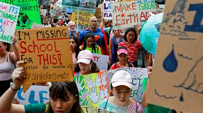 In Pictures: Protests worldwide for action against climate change
