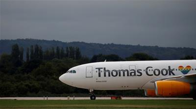 UK's Thomas Cook reportedly in rescue talks with government