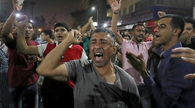 Suez clashes came a day after dozens of protesters were reportedly arrested in Egypt's capital, Cairo [Mohamed Abd El Ghany/Reuters]