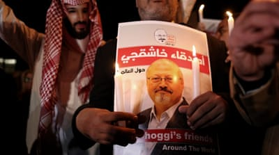 Call for justice in the US one year after Khashoggi's murder